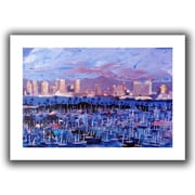 ArtWall San Diego Flat Unwrapped Canvas Art By Martina and Markus Bleichner, 12 x 18