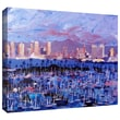 ArtWall in.San Diegoin. Gallery Wrapped Canvas Art By Martina and Markus Bleichner, 32in. x 48in.