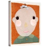 "ArtWall ""Baby Face"" Gallery Wrapped Canvas Art By Maria Carluccio, 24"" x 32"""