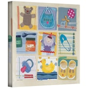 ArtWall Baby Icons Gallery Wrapped Canvas Art By Maria Carluccio, 14 x 14
