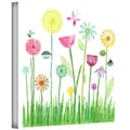 ArtWall in.Garden Flowersin. Gallery Wrapped Canvas Arts By Maria Carluccio