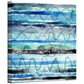 ArtWall in.Oceanin. Gallery Wrapped Canvas Arts By Maria Carluccio
