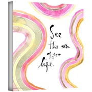 ArtWall Acro Fyourlife Gallery Wrapped Canvas Art By Maria Carluccio, 18 x 18