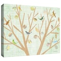 ArtWall in.Tree with Backgroundin. Gallery Wrapped Canvas Arts By Maria Carluccio