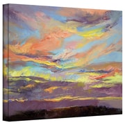 "ArtWall ""Atahualpa Sunset"" Gallery Wrapped Canvas Arts By Michael Creese"