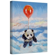 "ArtWall ""Balloon Ride"" Gallery Wrapped Canvas Art By Michael Creese, 32"" x 24"""