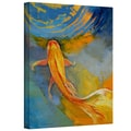 ArtWall in.Butterfly Koiin. Gallery Wrapped Canvas Arts By Michael Creese