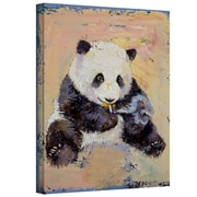 "ArtWall ""Cigarette Break"" Gallery Wrapped Canvas Arts By Michael Creese"