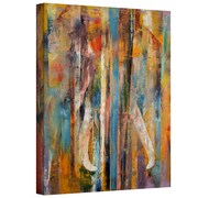 "ArtWall ""Elephant"" Gallery Wrapped Canvas Arts By Michael Creese"