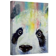 "ArtWall ""Panda Rainbow"" Gallery Wrapped Canvas Arts By Michael Creese"