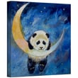 ArtWall in.Panda Starsin. Gallery Wrapped Canvas Art By Michael Creese, 24in. x 24in.