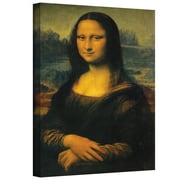 ArtWall Mona Lisa Gallery Wrapped Canvas Art By Leonardo Da Vinci, 24 x 32