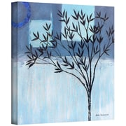 "ArtWall ""Ashley Day Blue"" Gallery Wrapped Canvas Art By Herb Dickinson, 14"" x 14"""