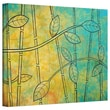 ArtWall in.Happy Junglein. Gallery Wrapped Canvas Art By Herb Dickinson, 24in. x 32in.
