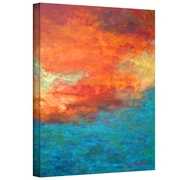 "ArtWall ""Lake Reflections II"" Gallery Wrapped Canvas Art By Herb Dickinson, 48"" x 36"""