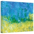 ArtWall in.Tropical Watersin. Gallery Wrapped Canvas Arts By Herb Dickinson