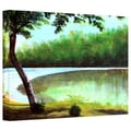 ArtWall in.Carol's Retreatin. Gallery Wrapped Canvas Arts By Herb Dickinson