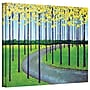 ArtWall In the Park Gallery Wrapped Canvas Art