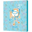 "ArtWall ""Dive in Girl"" Gallery Wrapped Canvas Arts By Felittle People"