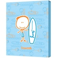 ArtWall in.Surf Boyin. Gallery Wrapped Canvas Art By Felittle People, 24in. x 32in.