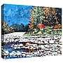 ArtWall Pebble Creek Gallery Wrapped Canvas Art By