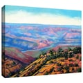 ArtWall in.Valley Viewin. Gallery Wrapped Canvas Arts By Gene Foust