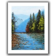 """ArtWall """"Purified"""" Flat Unwrapped Canvas Arts By Gene Foust"""