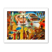 "ArtWall ""In Italy Even Rain is Beautiful"" Unwrapped Canvas Art By Susi Franco, 36"" x 48"""