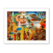 "ArtWall ""In Italy Even Rain is Beautiful"" Unwrapped Canvas Art By Susi Franco, 24"" x 32"""