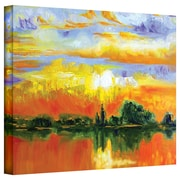 "ArtWall ""The Zen of Italy"" Gallery Wrapped Canvas Art By Susi Franco, 14"" x 18"""