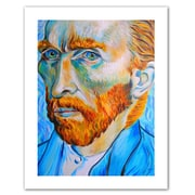 """ArtWall """"My Own Private Vincent Van Gogh"""" Unwrapped Canvas Art By Susi Franco, 24"""" x 18"""""""