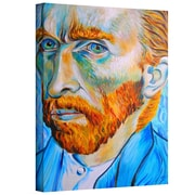 "ArtWall ""My Own Private Vincent Van Gogh"" Gallery Wrapped Canvas Art By Susi Franco, 48"" x 36"""
