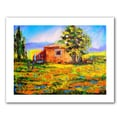 ArtWall in.Prarie Palacein. Unwrapped Canvas Arts By Susi Franco