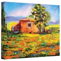ArtWall in.Prarie Palacein. Gallery Wrapped Canvas Arts By Susi Franco