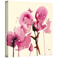 ArtWall in.Orchids Iin. Gallery Wrapped Canvas Arts By Karin Johannesson
