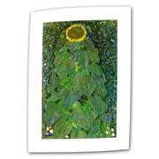 "ArtWall ""The Park"" Flat/Rolled Canvas Art By Gustav Klimt, 14"" x 14"""
