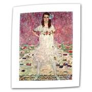 "ArtWall ""Anticipation"" Flat/Rolled Canvas Art By Gustav Klimt, 30"" x 48"""
