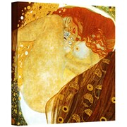 "ArtWall ""Fish Blood"" Gallery Wrapped Canvas Art By Gustav Klimt, 24"" x 24"""