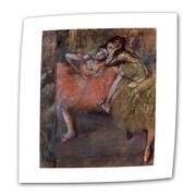 "ArtWall ""Danae"" Flat/Rolled Canvas Art By Gustav Klimt, 36"" x 36"""