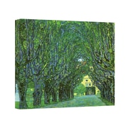 "ArtWall ""Beech Forest"" Gallery Wrapped Canvas Art By Gustav Klimt, 18"" x 18"""