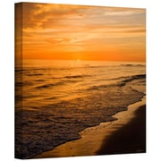 "ArtWall ""Serene Sunset"" Gallery Wrapped Canvas Arts By David Liam Kyle"