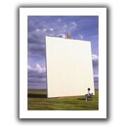 "ArtWall ""Creative Problems"" Unwrapped Flat Canvas Arts By Jerry Lofaro"