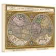 ArtWall in.Orbis Terrae Compendiosa...in. Gallery Wrapped Canvas Art By Rumold Mercator, 16in. x 24in.