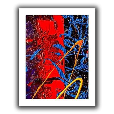 Antonio Raggio 'Rocks' Unwrapped Canvas, 12'' x 36''