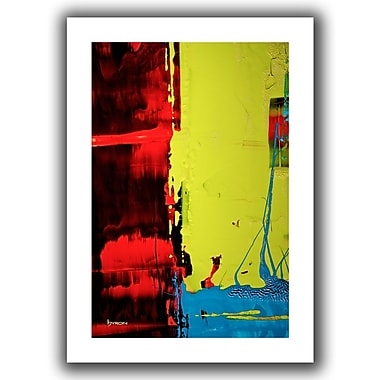 Antonio Raggio 'Path' Gallery-Wrapped Canvas, 18'' x 36''