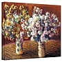 ArtWall Two Vases Gallery Wrapped Canvas Art By