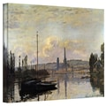 ArtWall in.Dockin. Gallery Wrapped Canvas Arts By Claude Monet