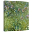 ArtWall in.Agapanthus 2in. Gallery Wrapped Canvas Art By Claude Monet, 14in. x 18in.