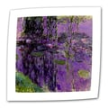 ArtWall in.Lavender Water Lilliesin. Flat/Rolled Canvas Arts By Claude Monet