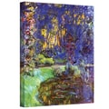 ArtWall in.Givernyin. Gallery Wrapped Canvas Arts By Claude Monet